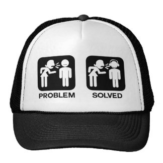 Problem Solved Trucker Hat