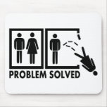 Problem solved - Woman Mouse Pads