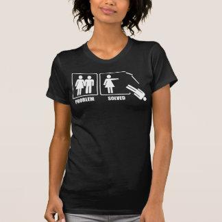 Problem Solved WOMEN drk T-shirt