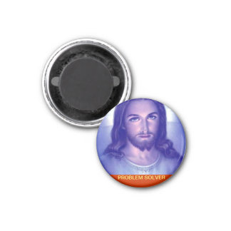 Problem Solver. Customized Religious Magnet. 1 Inch Round Magnet