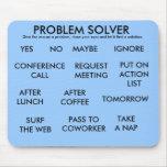 PROBLEM SOLVER MOUSE PAD