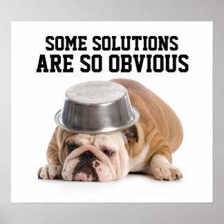 Problem Solving Humor Poster