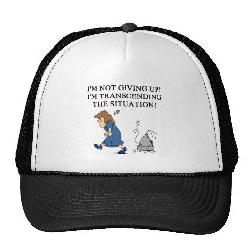 problem solving joke trucker hat