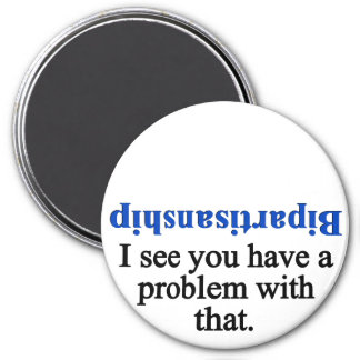 Problem with bipartisanship 1 refrigerator magnets