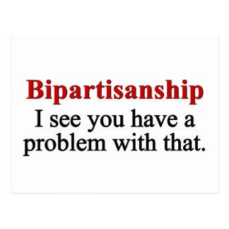 Problem with bipartisanship 2 postcard