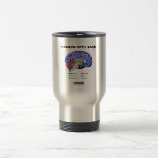 Problem With Brain Inside (Brain Anatomy) Travel Mug