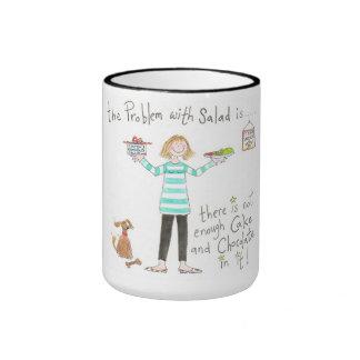 Problem with salad classic mug