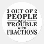 Problema con las fracciones etiquetas