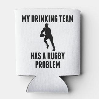 Problema de consumición del rugbi del equipo enfriador de latas