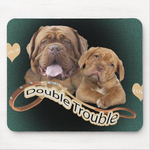 Problema de Dogue De Bordeaux Double Tapete De Ratones