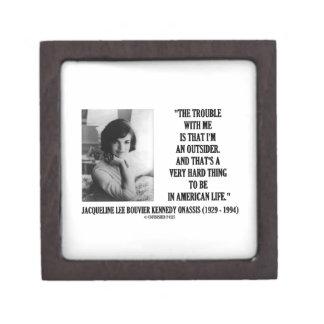 Problema de Jacoba Kennedy conmigo cita del forast Caja De Recuerdo De Calidad