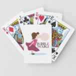 Problema de la burbuja barajas de cartas