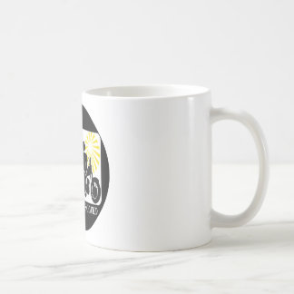 Problema de la moto solucionado taza de café