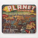 Problema de la pulpa de las historias SF del plane Tapete De Raton