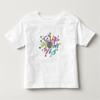Problema del doble del flower power de la curación camisas