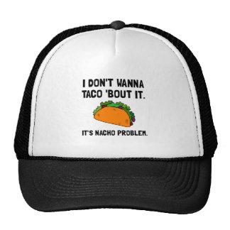 Problema del Nacho del Taco Gorros