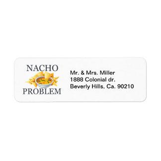 Problema del Nacho Etiquetas De Remite