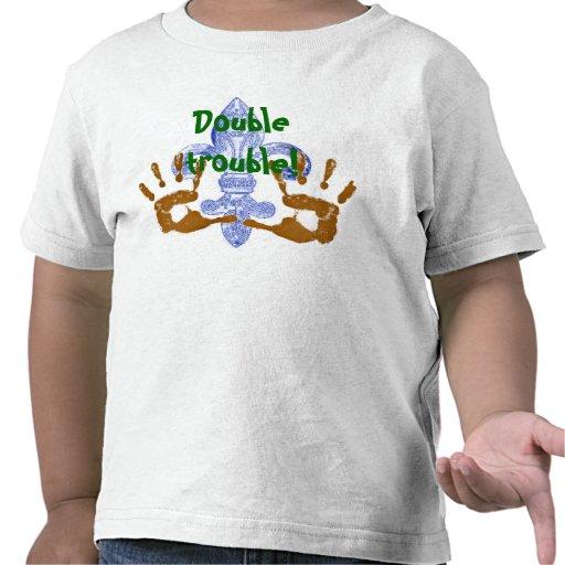 ¡Problema doble! 2 Camiseta