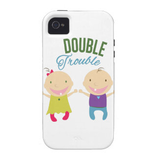 Problema doble Case-Mate iPhone 4 fundas