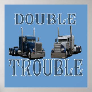 Problema doble póster