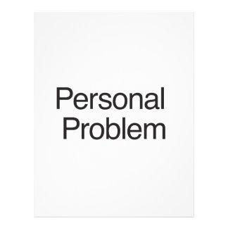 Problema personal tarjetones