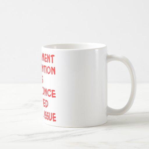 Problema social nunca solucionado de la intervenci taza de café