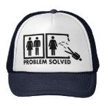 Problema solucionado - hombre gorra