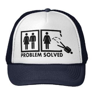 Problema solucionado - hombre gorras de camionero