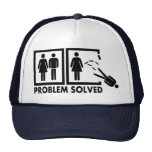 Problema solucionado - hombre gorros