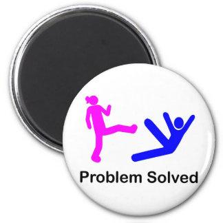 Problema solucionado imán redondo 5 cm