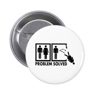 Problema solucionado - mujer pin