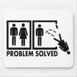 Problema solucionado - mujer tapetes de raton