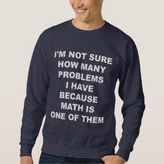 Problemas con matemáticas. Suéter