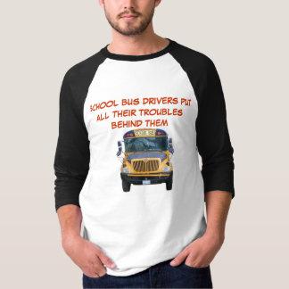 Problemas del conductor del autobús escolar playeras