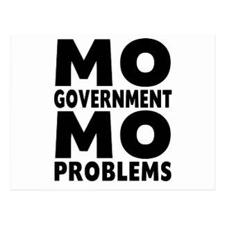 Problemas del MES del gobierno del MES Postal