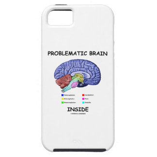 Problematic Brain Inside (Brain Anatomy) iPhone SE/5/5s Case