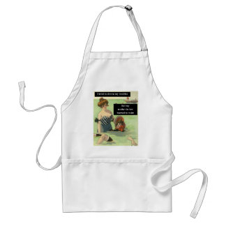 Problems with Mother-In-Law Adult Apron