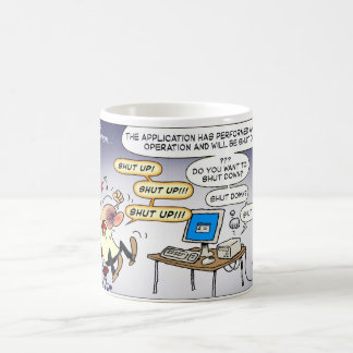 Problems With Voice Recognition Classic White Coffee Mug