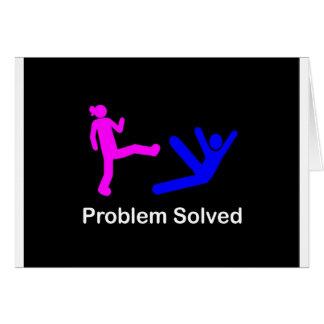 ProblemSolved Card
