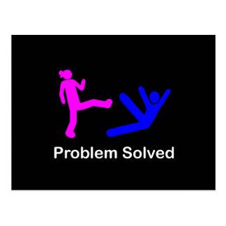 ProblemSolved Postcard