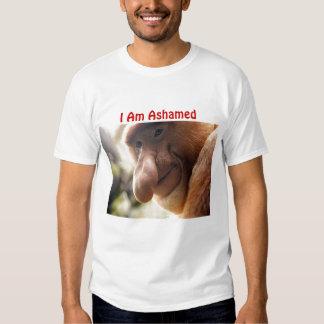 proboscis0925b, I Am Ashamed Tee Shirt