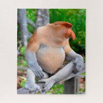 Proboscis Monkey. Jigsaw Puzzle