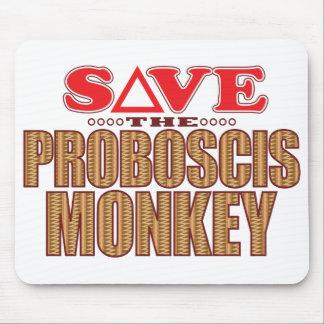 Proboscis Monkey Save Mouse Pad