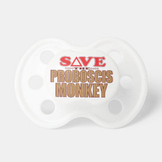 Proboscis Monkey Save Pacifier