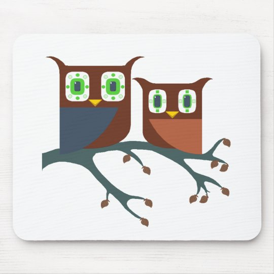 ProBroOwls Mouse Pad