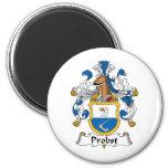 Probst Family Crest Fridge Magnet