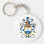 Probst Family Crest Key Chain