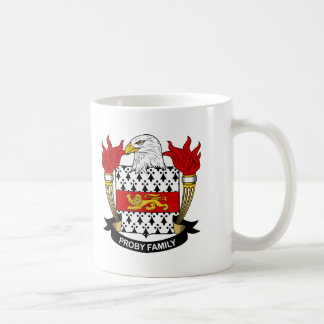 Proby Family Crest Coffee Mug