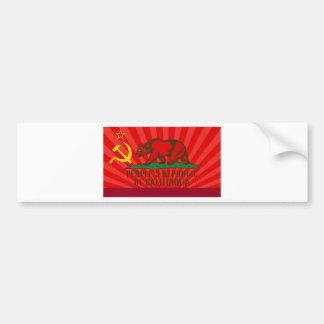 PROC Flag Car Bumper Sticker