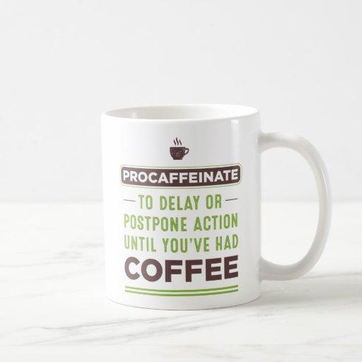 What Is Coffee Maker Definition : PROCAFFEINATE Definition Coffee Mug Zazzle